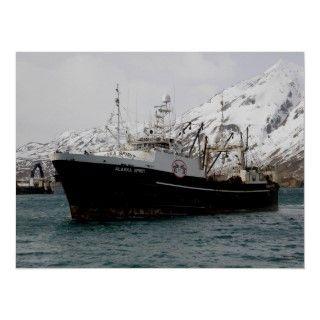 Alcohol de Alaska, F.C.A. Fishing Trawler Impresiones de