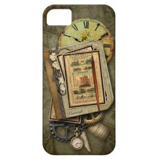 Vintage Steampunk Travel iPhone 5 Case