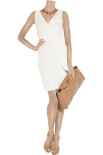 Paul & Joe Molinaro silk twill wrap effect dress   85% Off