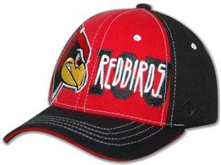 Illinois State Redbirds Rage Flex Fit Hat Cap M L New