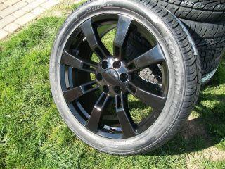 BLACK CK375 22 GM CHEVY Cadillac Escalade Denali Tahoe LTZ Wheel Rim