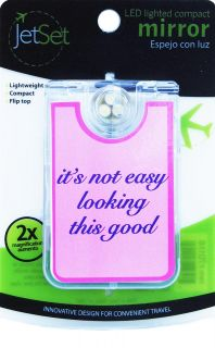 JetSet LED Lighted Compact Mirror