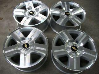 20 LTZ Silverado Factory Style Wheels Tahoe Texas Suburban Avalanche