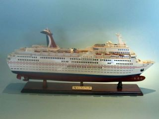 Carnival Imagination 30 Wooden Model Cruise SHIP