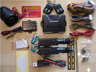 Door Keyless Central Locking Kit Scorpion Car Alarm