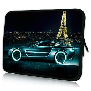 Eiffel Tower Neoprene Laptop Sleeve Case for 10 15 iPad MacBook Dell