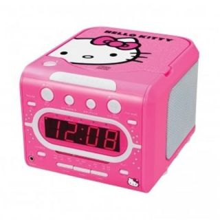 AM FM Alarm Clock Radio With Built In CD Player Stereo LED BRAND NEW