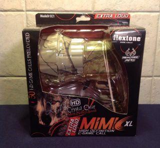 Flextone Mimic HD XL Handheld Electronic Game Call Realtree APG EC1