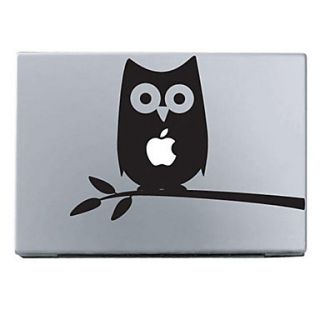 búho etiqueta de protección de piel para 11 13 15 macbook air pro