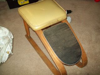 Vintage Shelby Williams Foot Stool in Good Shape Very Unique and Cool