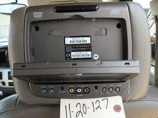 Tahoe Avalanche Yukon Acadia Headrest DVD Player 7 LCD Monitor
