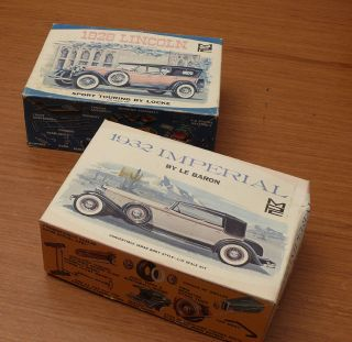 MPC 1932 Chrysler Imperial by Le Baron Parts Lot