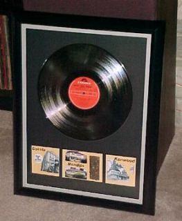 Beatles John Lennon in My Life Custom Framed Mendips Brick and Towel