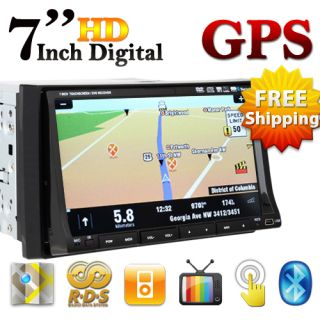 Touch Screen in Car GPS DVD Player Pip SD RDS Navigation 3D Map