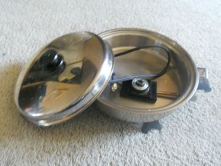 Used Saladmaster Stainless Steel 11 in Electric Skillet