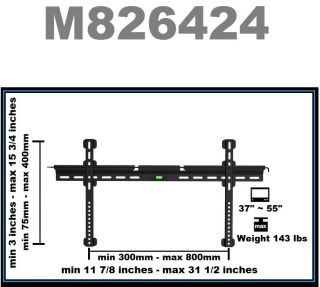 Mount Bracket Fits for 37 55 inch LED LCD Plasma Flat Panel TV