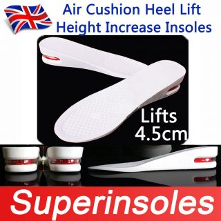 Air Cushion Light Height Increase Shoe Insoles WomenS