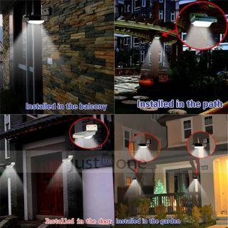 16 LEDs SMD 3528 Solar Motion Sensor Light Lamp Indoor Home Security