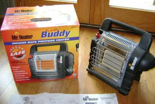 Mr Heater Portable Buddy Indoor Safe Propane Heater