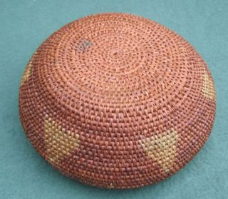 Estate Find Native American Folk Art Apache? Indian Tribal BASKET