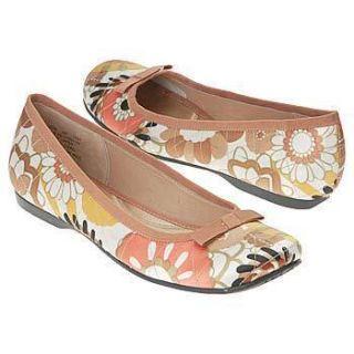Indigo by Clarks Women Shoes Giana Peach Tan 83048 Ballet Flats 6 5 7