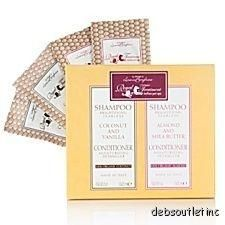 Royal Treatment 20 Piece Single Use Shampoo and Conditioner Spa Set