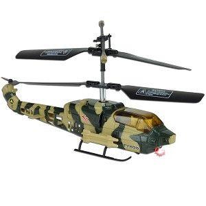 Indoor Remote Control Tri Band Indoor Mini Combat Apache Helicopter w
