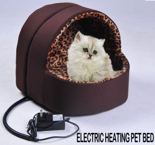 Electric Heat Pet Bed Pad House Warmer Dog Cat Litter Animal Coffee