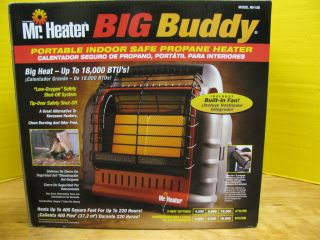 Mr Heater Big Buddy Portable Indoor Safe Propane Heater