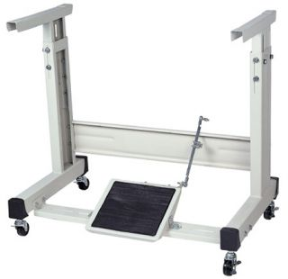 Industrial Sewing Machine K Leg Stand with Casters New