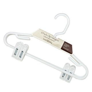 Koala Baby 2 Pack Clip Hanger White ZTM