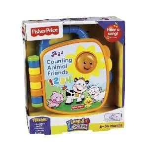 Fisher Price Counting Animal Friends Book Baby Toys
