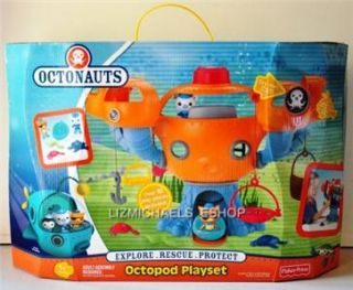 WOW Octonauts Octopod Playset Barnacles Kwazii Figures Play Set