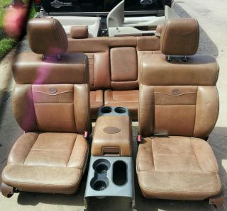 04 08 F150 King Ranch Leather Interior