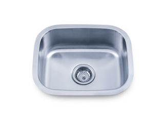 Sinks PL 864 18 Stainless Steel Undermount Single Bowl Kitchen Sink
