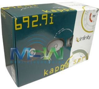 Infinity Kappa 692 9i 6x9 2 Way Full Range Car Stereo Coaxial Speaker