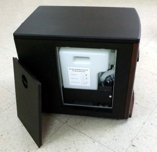 Infrared portable heater that combines a Humidifier with Infrared Heat