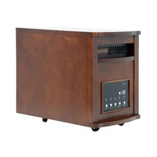 NEW Lifesmart 1500 Watt Infrared Quartz Electric Heater *Heats up to