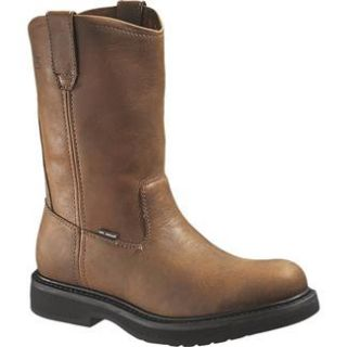 Wolverine Brown 10 Ingham Wellington St Boots Work footwear Steel Toe