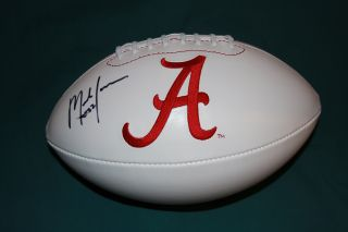 Mark Ingram Alabama Crimson Tide Logo Football GAI