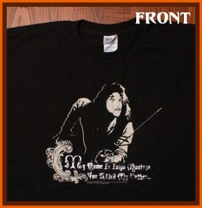 Princess Bride Movie Inigo Montoya Prepare to Die T Shirt XXL