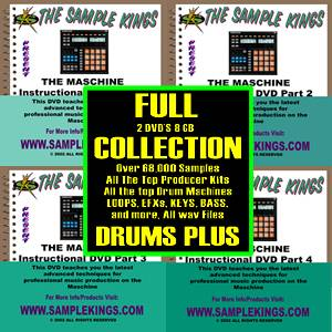 Ni Maschine Mikro Instructional DVDs 4 Plus 68 000 Samples