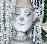 Tin Man Robot Figure OOAK Handmade Polymer Clay Art Doll Statue New