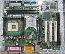 Intel D845GECL Motherboard Pentium 4 Socket 478 Motherboard with 1 ISA