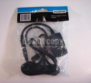CCA iPod interface cable allows connectivity between your iPod