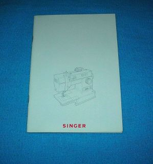 Singer Sewing Machine Model 9010 Instruction Manual