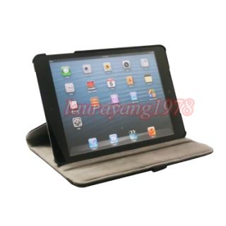 Swivel Leather Case Stand Cover for Apple New iPad Mini 7 9
