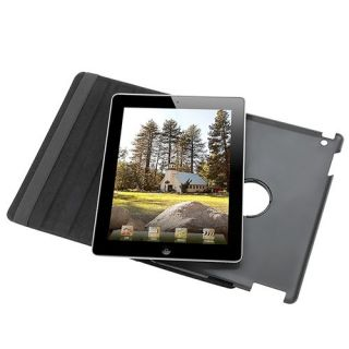 iPad 2 360 Rotating Magnetic Leather Case Smart Cover Screen Protector
