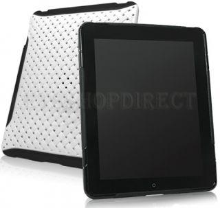 Black Weave TPU Skin Cover Hard Case for Apple iPad 1st