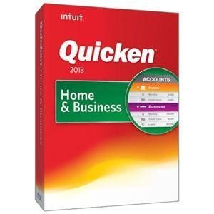 Intuit Quicken Home Business 2013 New in Box